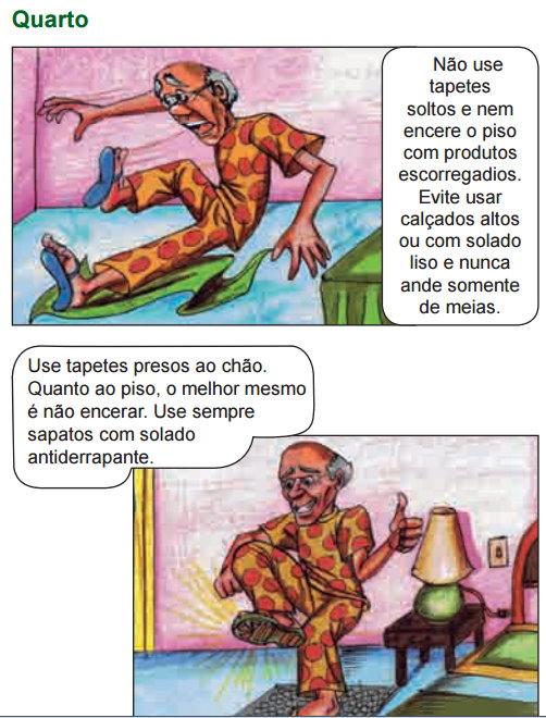 Armario Suspenso Escritorio ~ Prevenç u00e3o de quedas em idosos orientações e cuidados