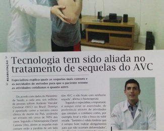 Revista Expediente entrevista o Dr Daniel Caixeta sobre AVC e tecnologia na fisioterapia