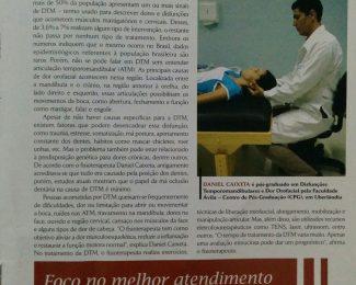 Revista Ortopedia em Goias - Entrevista ao Dr Daniel Caixeta sobre os beneficios da fisioterapia na cura dos dores faciais.jpg